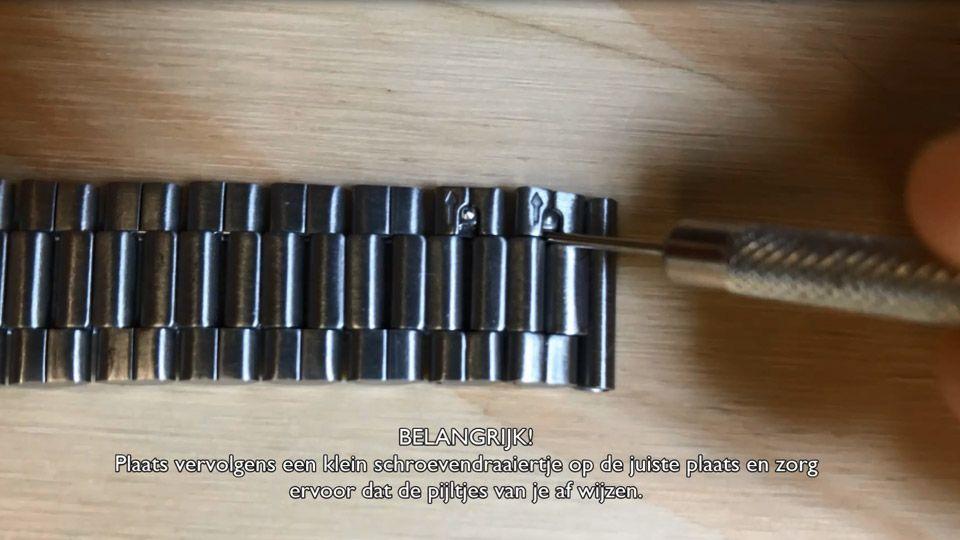 folded strap