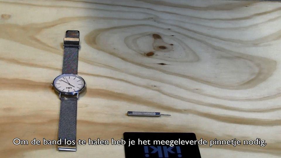 Horlogeband vervangen